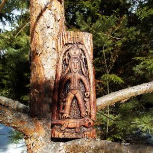пермский звериный стиль богиня со змеями