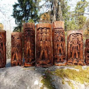 богини матери пермский звериный стиль