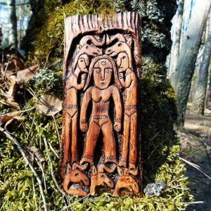 богиня огня пермский звериный стиль идол