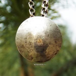 кузунгу шаманское зеркало из серебра купить