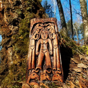 пермский звериный стиль богиня огня
