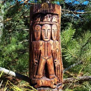 трехликая богиня тарэн пермский звериный стиль