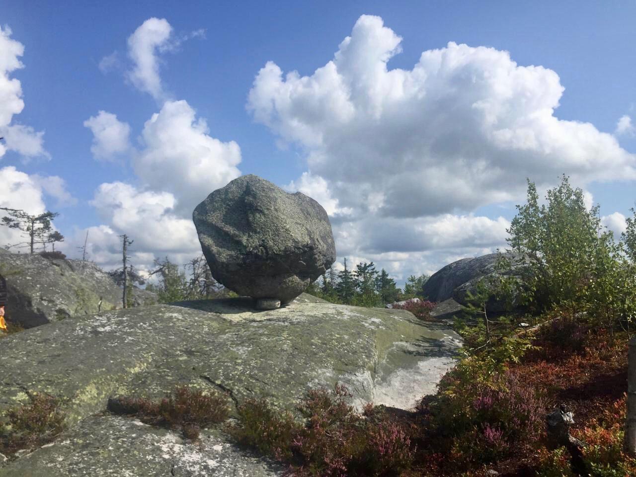 Воттоваара, и ее удивительные духи камни.