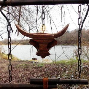 защита дома велес голова быка