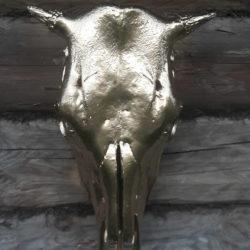 Золотой Телец череп