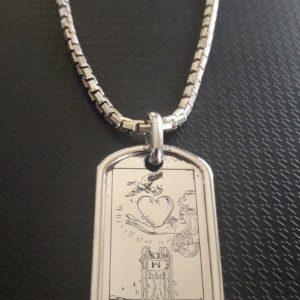 Талисман любви из серебра
