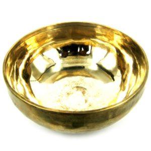 Поющая чаша кованая 24 см