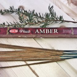 Благовония палочки масала Hem Amber