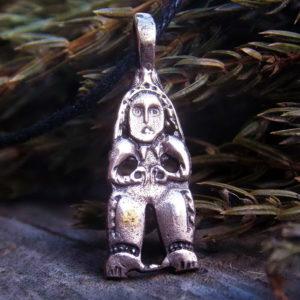 золотая баба пермский звериный стиль