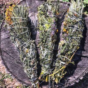 Скрутка для окуривания из 7 трав