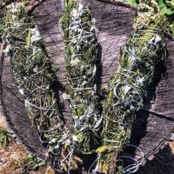 Скрутка для окуривания Очищение из 7 трав